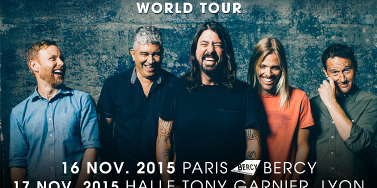 annulé - Foo Fighters en concert