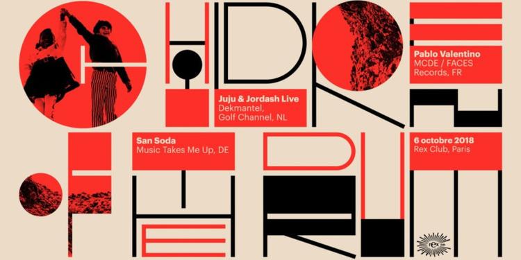 Children Of The Drum: San Soda, Juju&jordash Live, Pablo Valentino