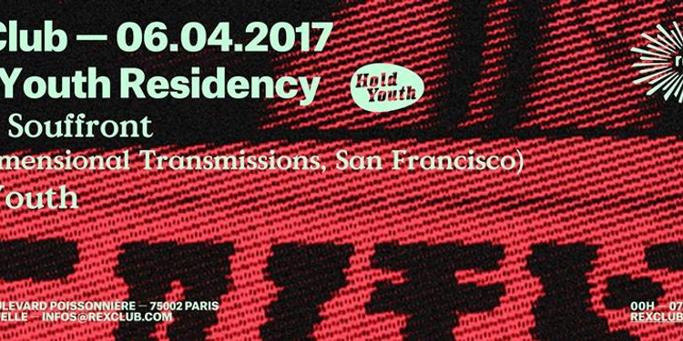 Hold Youth Residency w/ Carlos Souffront, Hold Youth