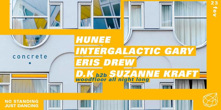 Concrete: Hunee, Intergalactic Gary, Eris Drew