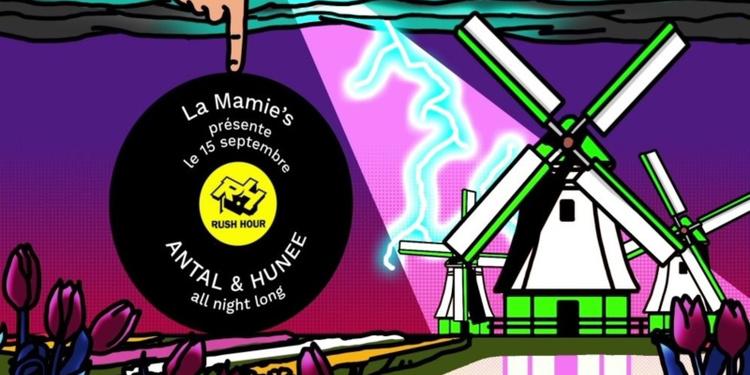 La Mamie's présente Hunee b2b Antal