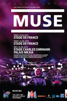 Muse en concert au Stade de France - The 2nd Law Tour