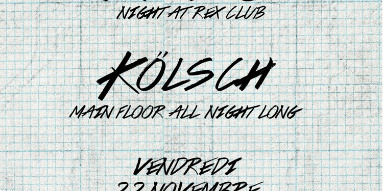 Rex Club presente Ipso Night: Kölsch All Night Long