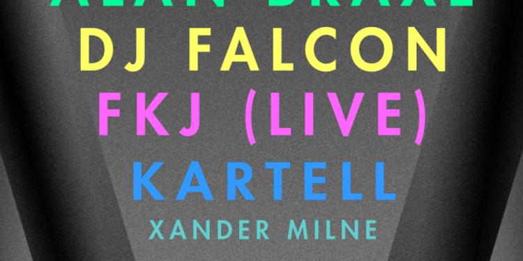 VULTURE x Roche musique : Fkj live, Kartell, Alan Braxe, Dj Falcon