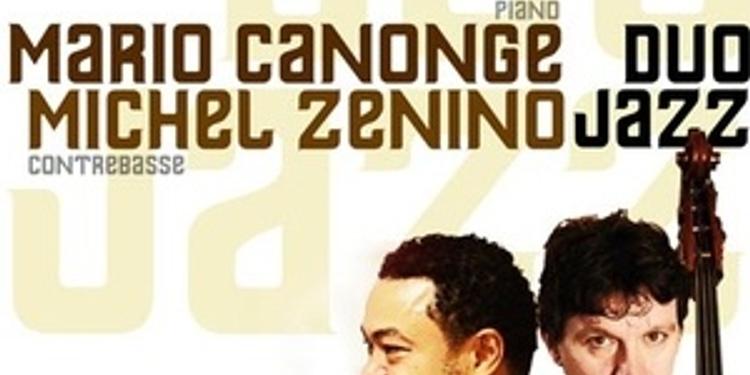Mario Canonge et michel zenino duo jazz
