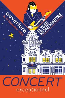 - M - Concert d'ouverture de l'Elysée Montmartre