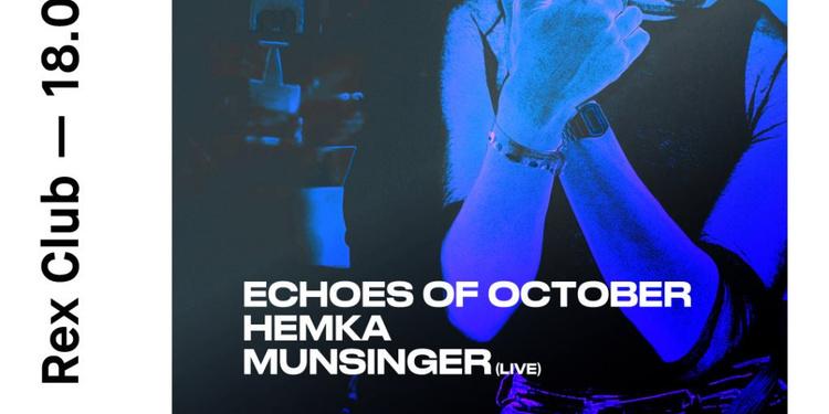 Subtyl: Echoes Of October, Hemka, Munsinger Live
