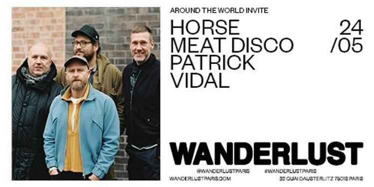 ATW Invite Horse Meat Disco et Patrick Vidal