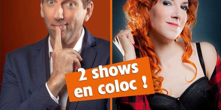 Geneviève Morissette & Thierry Garcia 2 shows en coloc