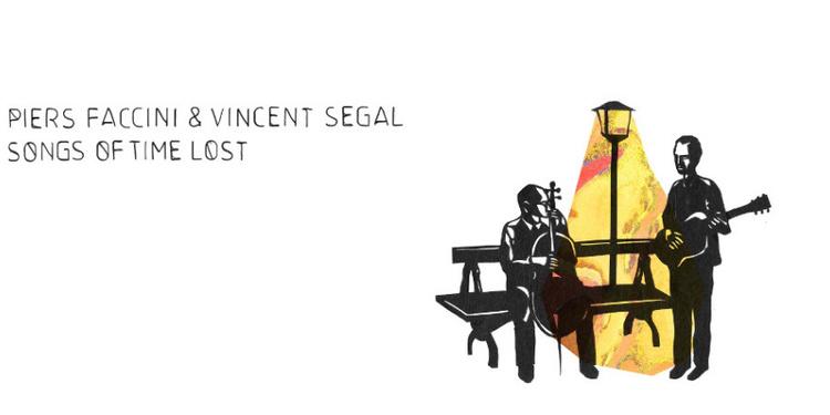 Piers Faccini + Vincent Segal en concert