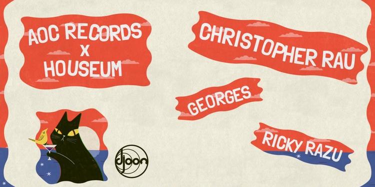 Houseum & AOC Records presents: Christopher Rau