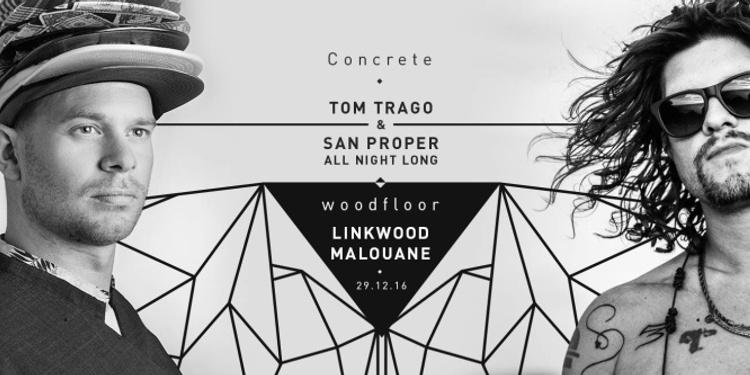 Concrete: Tom Trago b2b San Proper, Linkwood, Malouane