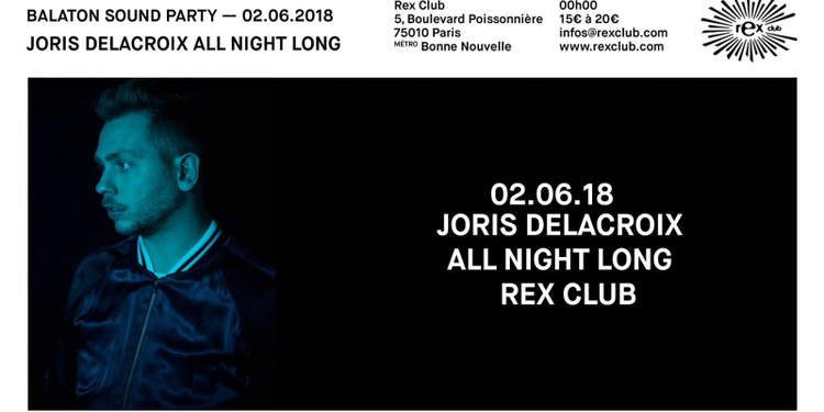 Balaton Sound Party avec Joris Delacroix