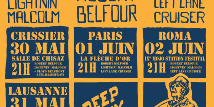 Festival Blues Rules Crissier Tour 2013