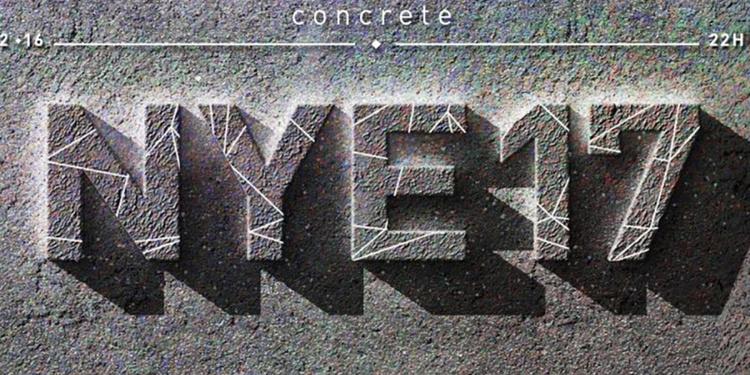 Concrete du Nouvel An