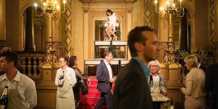 Ballets confidentiels - Johanne Saunier et Ine Claes