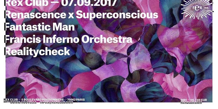 RNSC w/ Francis Inferno Orchestra, Fantastic Man, Realitycheck