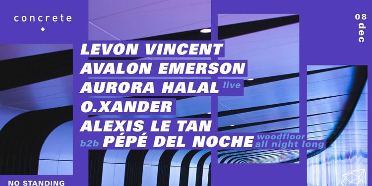 Concrete: Levon Vincent, Avalon Emerson, Aurora Halal, O.Xander