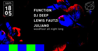 Concrete: Function, DJ Deep, Lewis Fautzi, Juliano