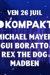La Clairière x Kompakt : Michael Mayer, Gui Boratto (live) - La Clairière - vendredi 26 juillet