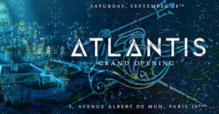 ATLANTIS / BIG OPENING / LA CITE PERDUE AQUATIQUE / GRATUIT avec INVITATION A TELECHARGER