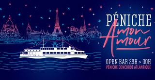 Péniche Mon Amour ! (open Bar / Guestlist)