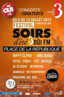 Festival soirs d'été 2013 - Ouï FM
