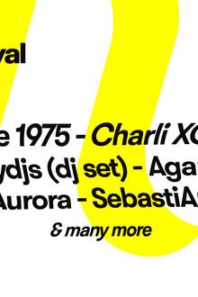 Pitchfork Music Festival Paris : The 1975 x Charli XCX x 2manydjs x Agar Agar