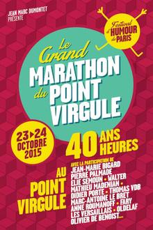 Le Grand Marathon du Point Virgule