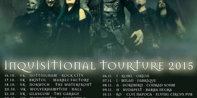 Cradle Of Filth en concert