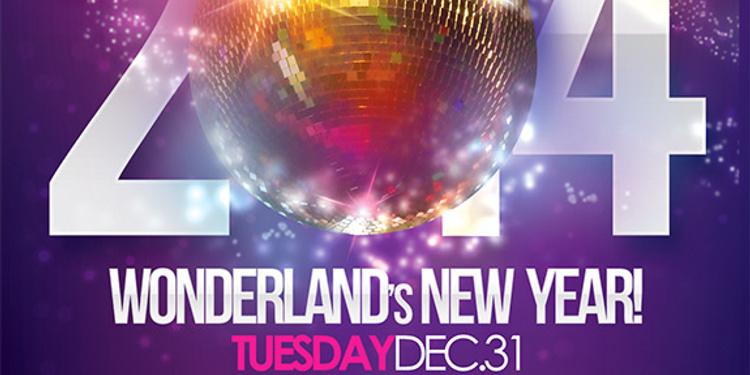 Réveillon Palais Maillot : Wonderland's NEW YEAR 2014