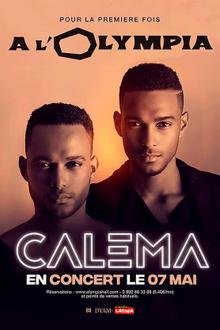 Calema en concert à l'Olympia !