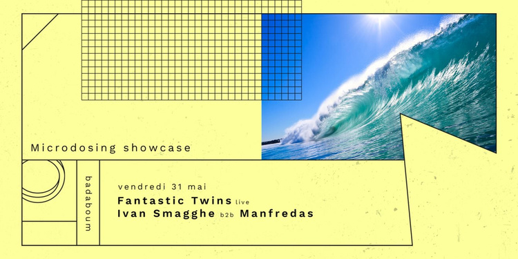Fantastic Twins Live, Ivan Smagghe, Manfredas