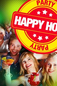 le jeudi c'est happy hour non stop - Hide Pub - jeudi 20 août