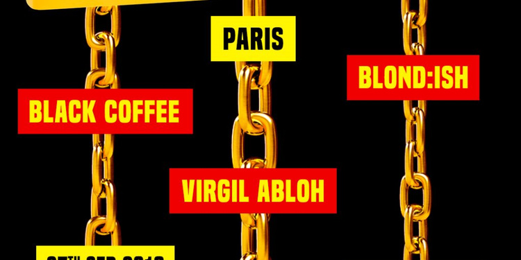 CircoLoco Paris presents Black Coffee, Blondish, Virgil Abloh