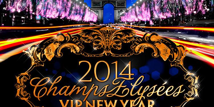 VIP New Year - Champs-Elysées 2014