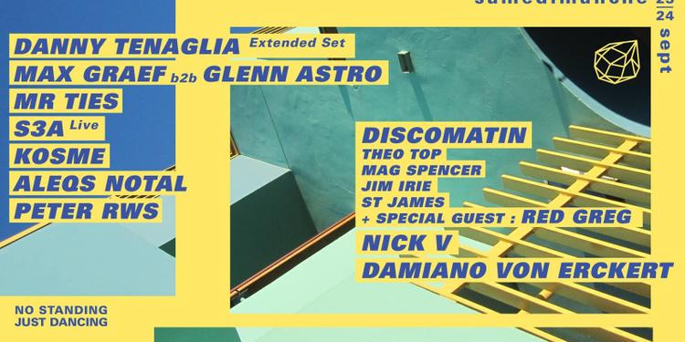 Concrete Samedimanche: Danny Tenaglia, Max Graef b2b Glenn Astro