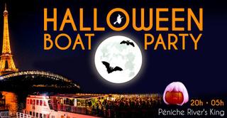 Halloween Boat Party ! (Croisière, Open Bar, Terrasse...)