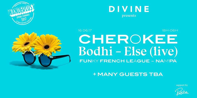 Divine #3 : Cherokee, Bodhi, Else (live), funky french league