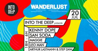 Into the deep invite Kenny Dope, San Soda, Maggie