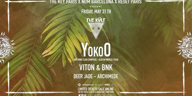 The Kült φ Temple Opening with YokoO, Viton & BNK, Deer Jade