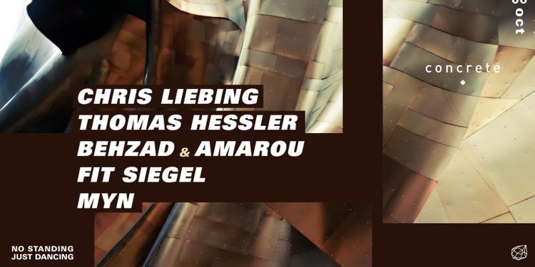 Concrete: Chris Liebing / Thomas Hessler / Fit SIegel