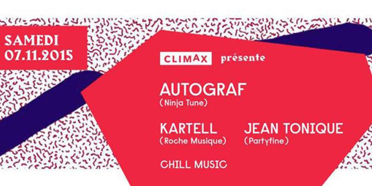 AUTOGRAF (LIVE), KARTELL, JEAN TONIQUE & CHILL MUSIC