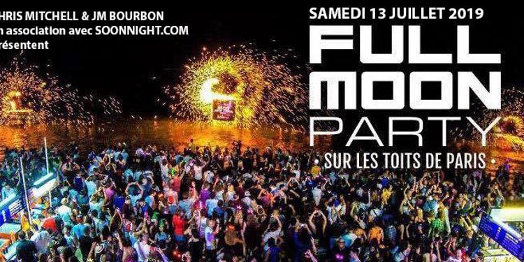 La Plus Grande Full Moon Party De France Terrasse Geante
