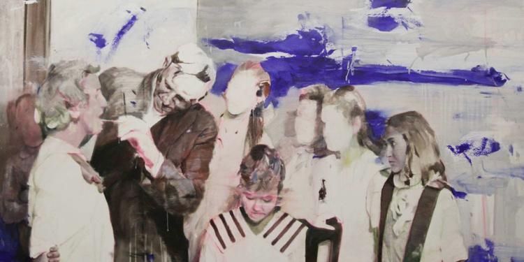 """""""Apparition, Disparitions"""" - Peintures de Lou Ros et Edwige Fouvry"""