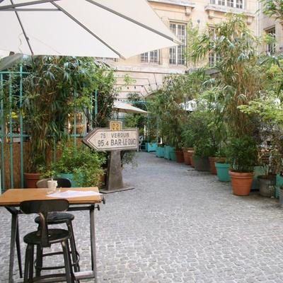 Le Jardin Municipal : apéro bucolique au Crédit Municipal de Paris