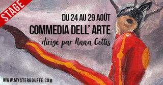 Stage d'été de Commedia dell'arte