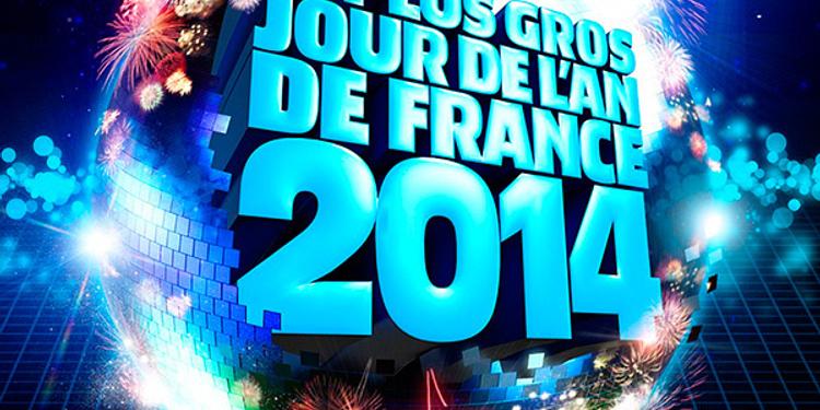 Le plus GROS jour de l'an de FRANCE 2014