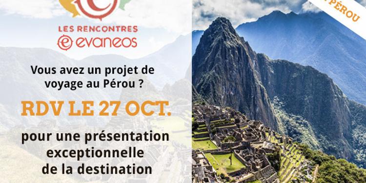 Pérou rencontres Je veux brancher maintenant