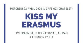 KISS MY ERASMUS @ CAFÉ OZ